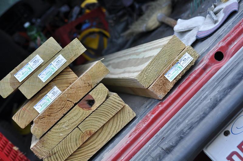 Painting Treated Lumber