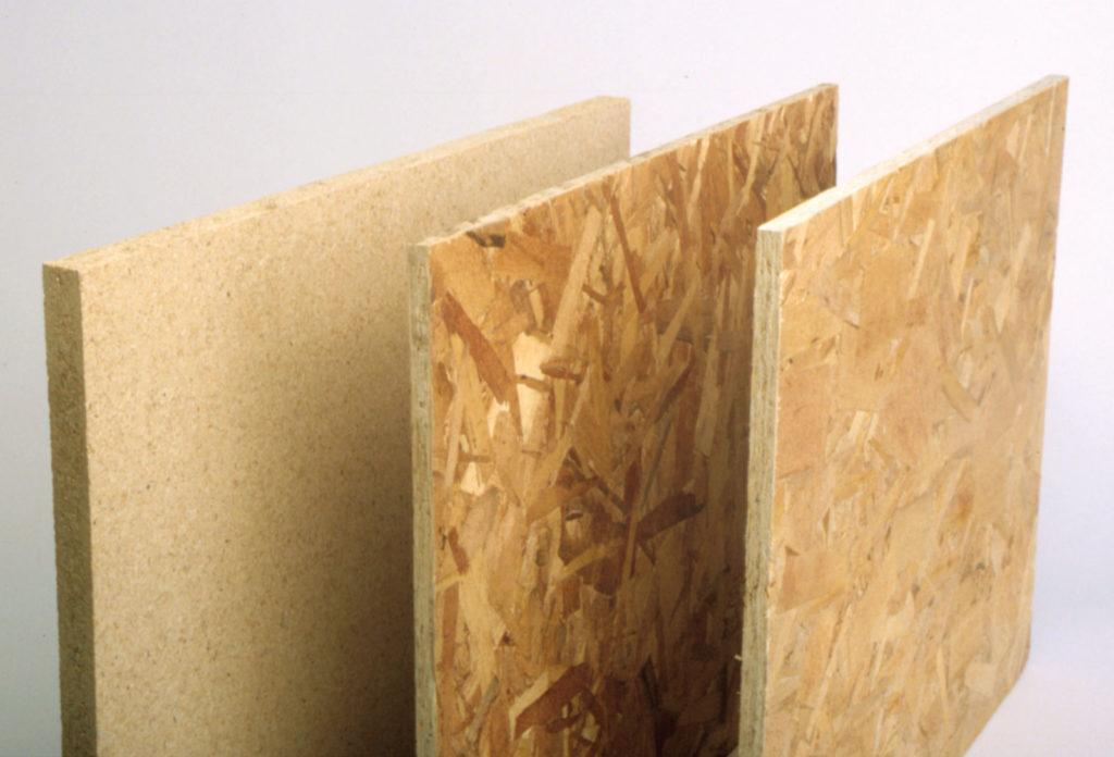 fiberboard vs particle board