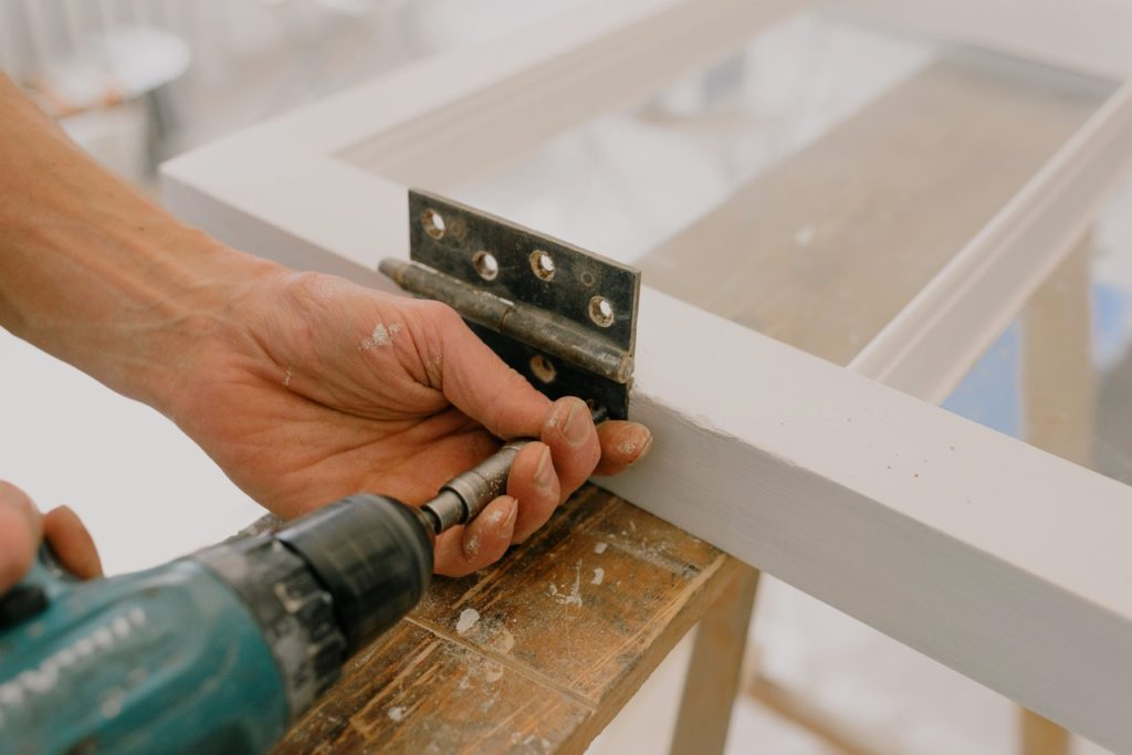 how to fix a door that rubs at the bottom