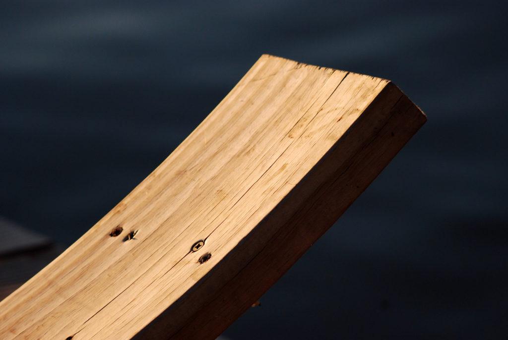 how to straighten warped wood