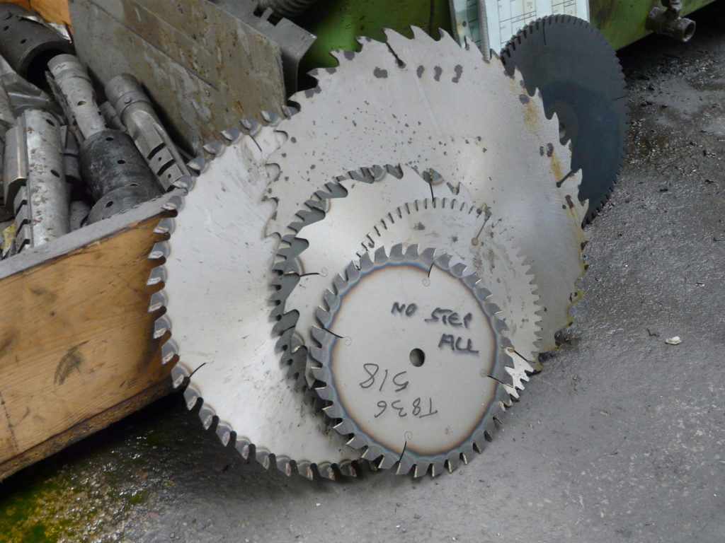 types of saw blades
