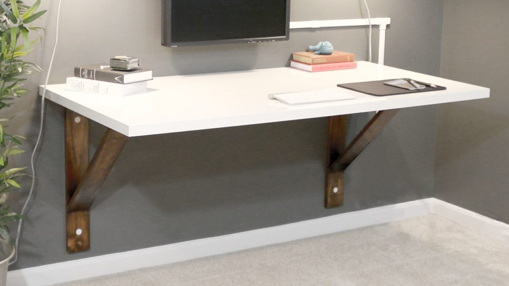 diy wall desk