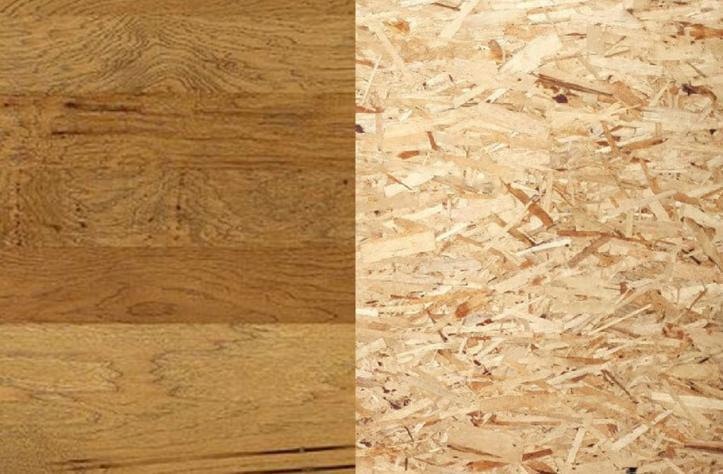 engineered wood vs particle board