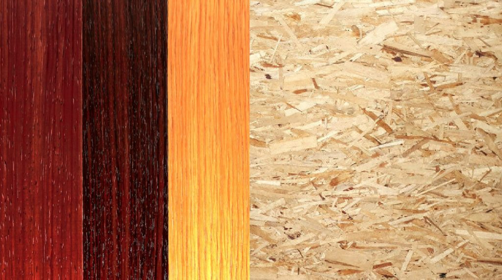 manufactured wood vs particle board