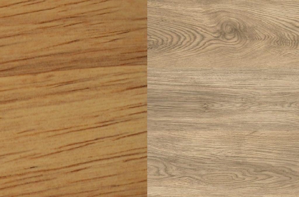 rubberwood vs oak