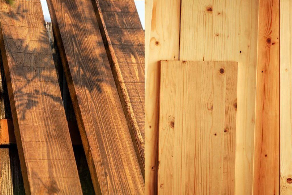 rubberwood vs pine