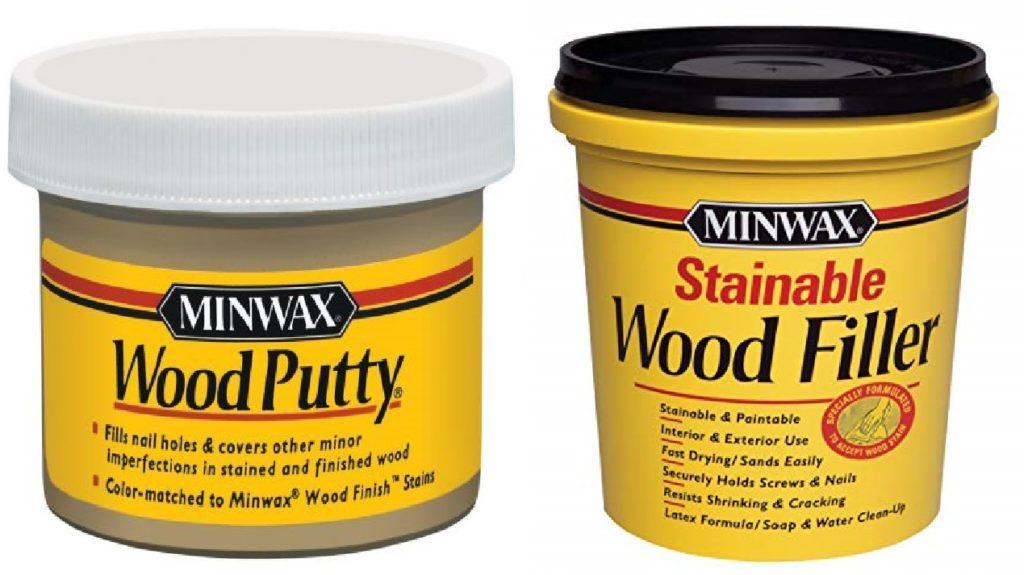 wood putty vs wood filler